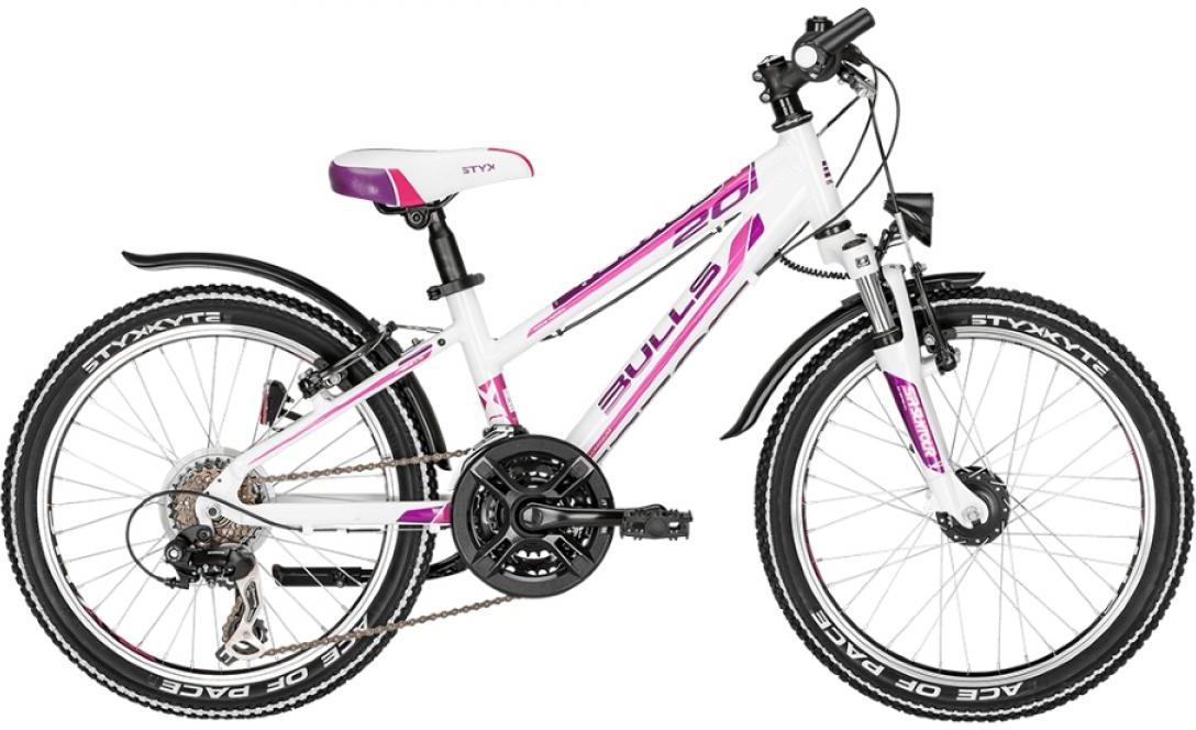 Велосипед детский Bulls Tokee Street (Girl / 18sp) 2015, цвет: белый, колесо 20129217