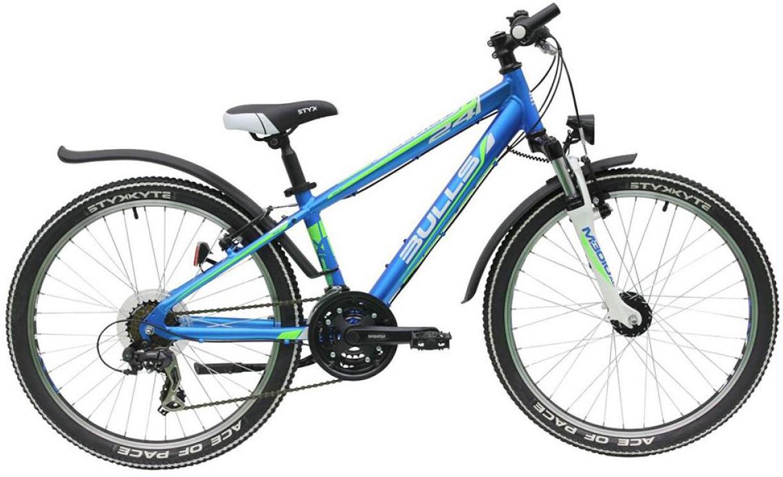 Велосипед детский Bulls Tokee Street (Boy / 18sp) 2015, цвет: синий, колесо 24129221