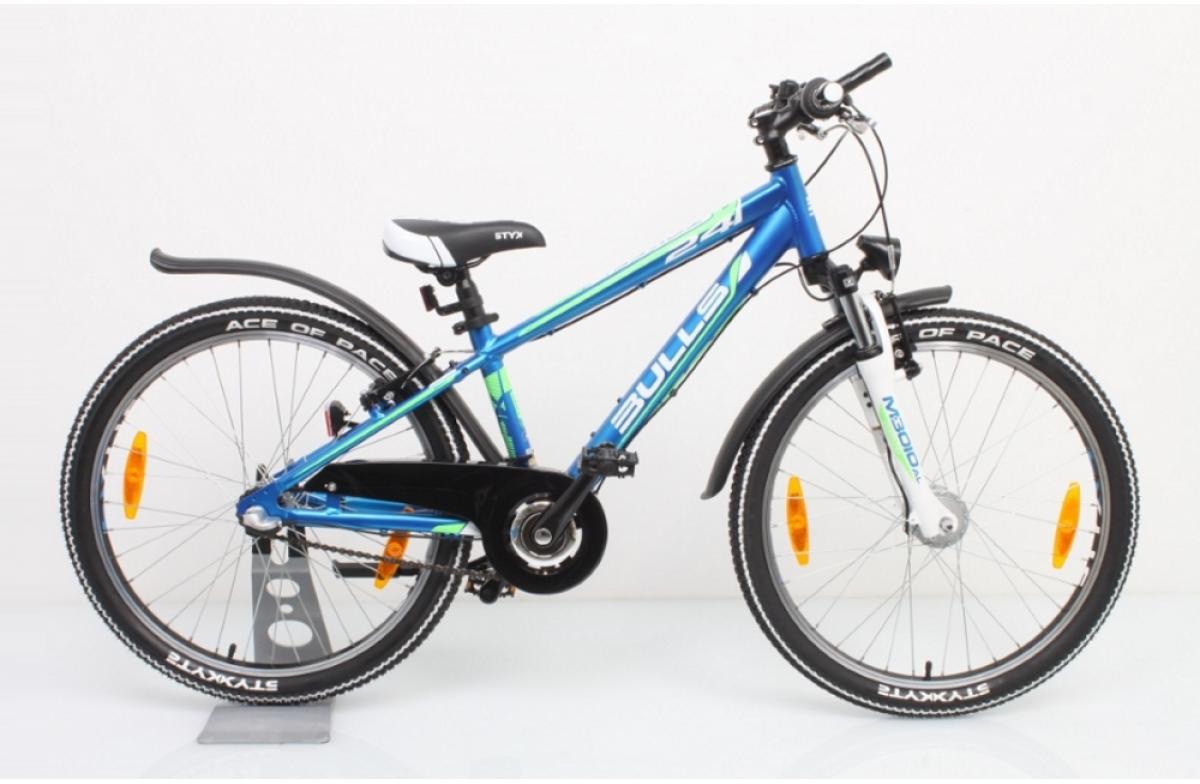 Велосипед детский Bulls Tokee Street (Boy / 3sp) 2015, цвет: синий, колесо 24129224