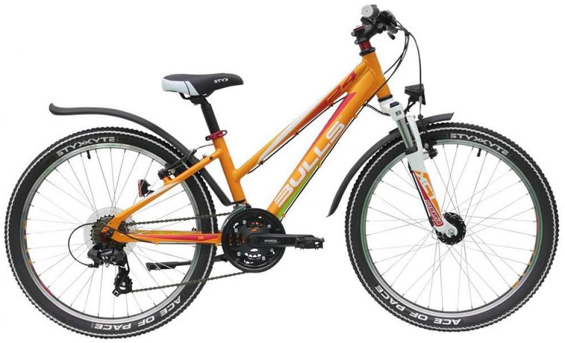 Велосипед детский Bulls Sharptail Street Girl (21sp) 2015, цвет: оранжевый, колесо 24129231