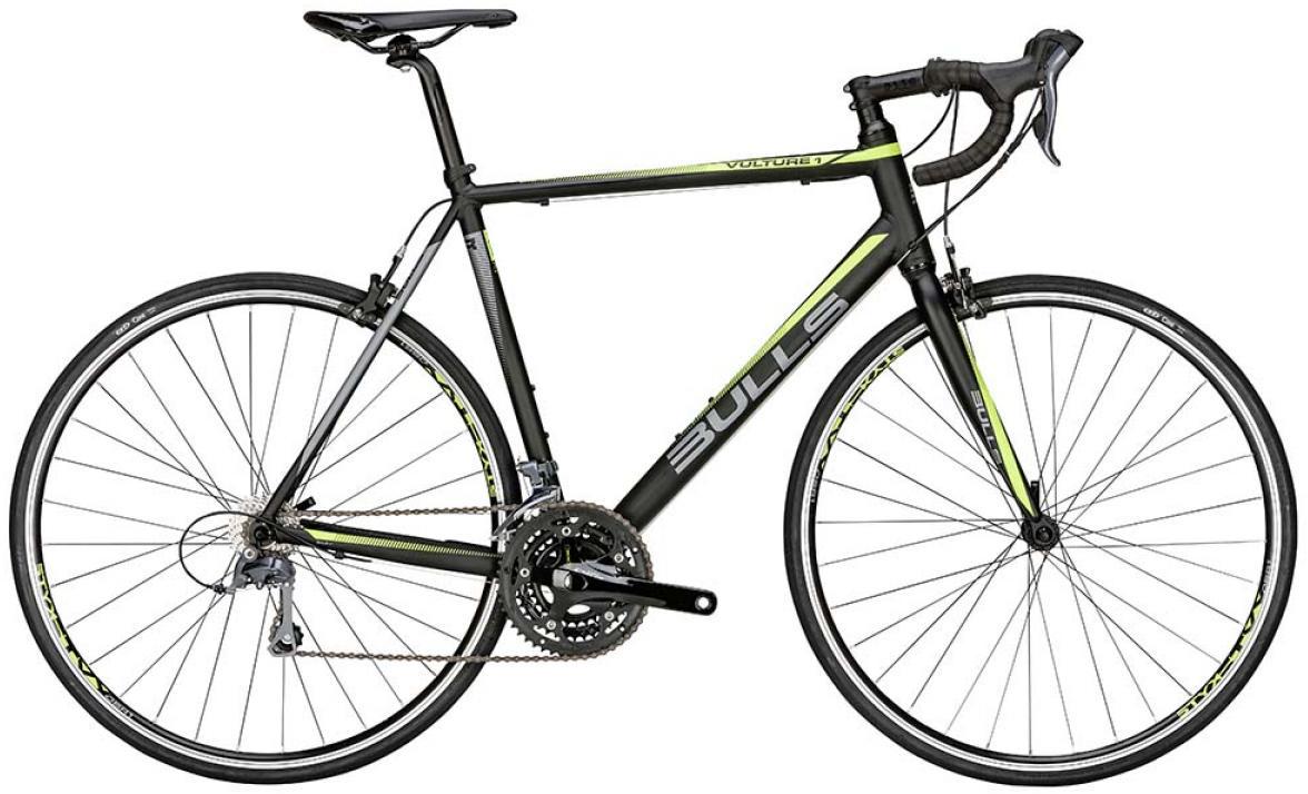 Велосипед шоссейный Bulls Vulture 1 2015, цвет: черный, рама 23, колесо 28129258