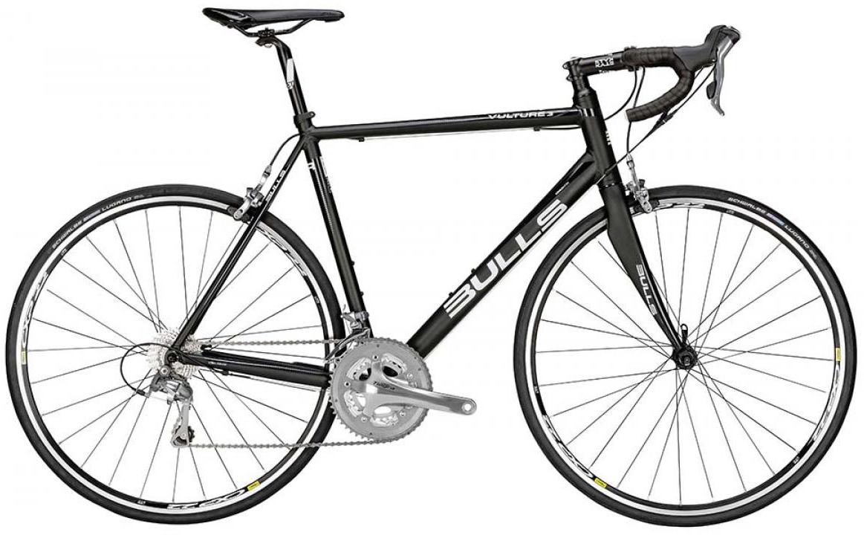 Велосипед шоссейный Bulls Vulture 3 2015, цвет: черный, рама 21, колесо 28129275
