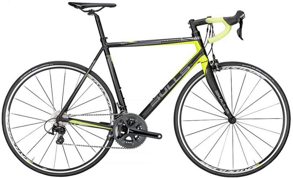 Велосипед шоссейный Bulls Harrier 2015, цвет: желтый, рама 19, колесо 28129288