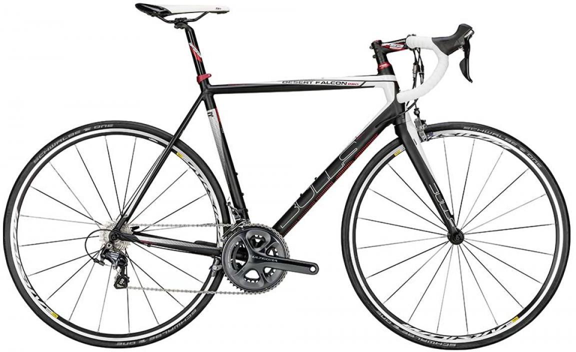 Велосипед шоссейный Bulls Desert Falcon Pro 2015, цвет: черный, рама 20, колесо 28129307