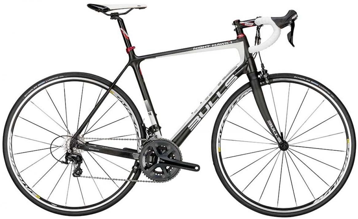 Велосипед шоссейный Bulls Night Hawk 1 2015, цвет: белый, рама 23,5, колесо 28129328