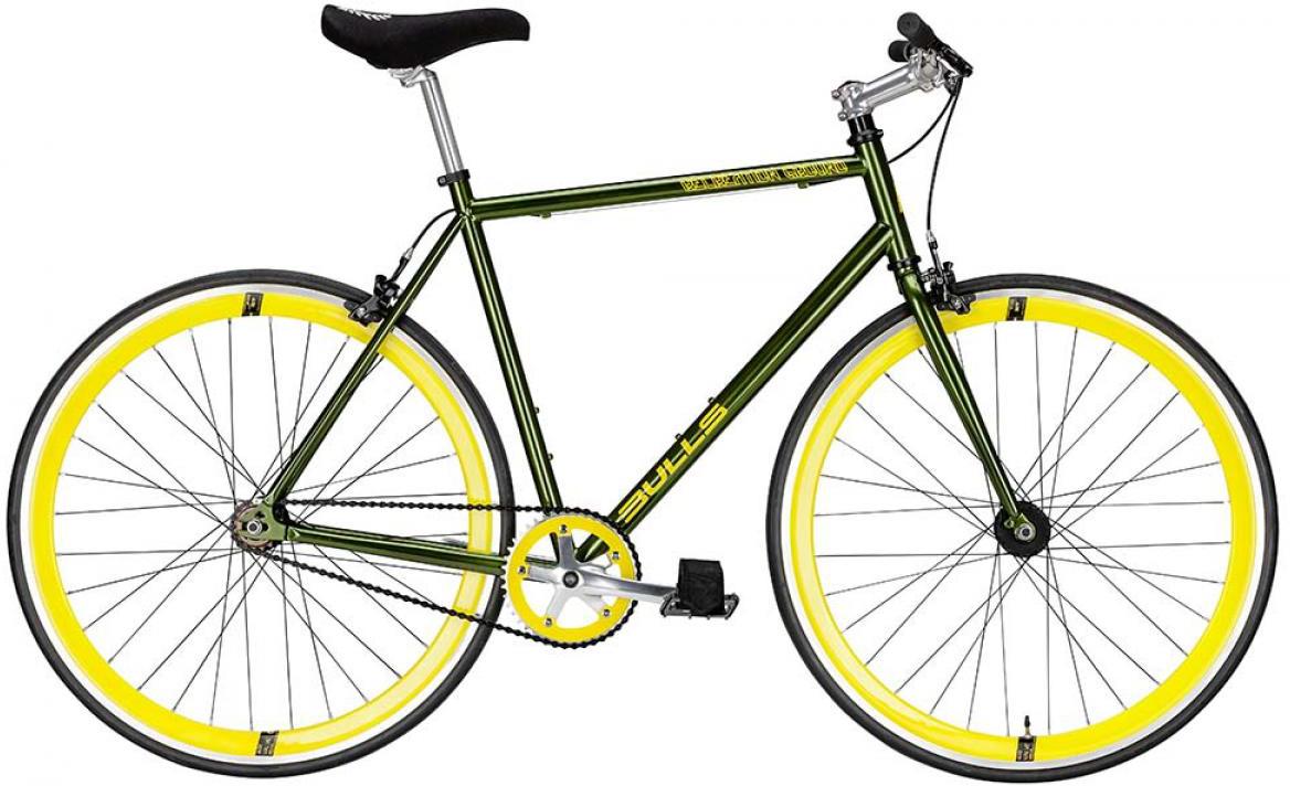Велосипед городской Bulls Recreation Ground 2015, цвет: зеленый, рама 21,5, колесо 28129373