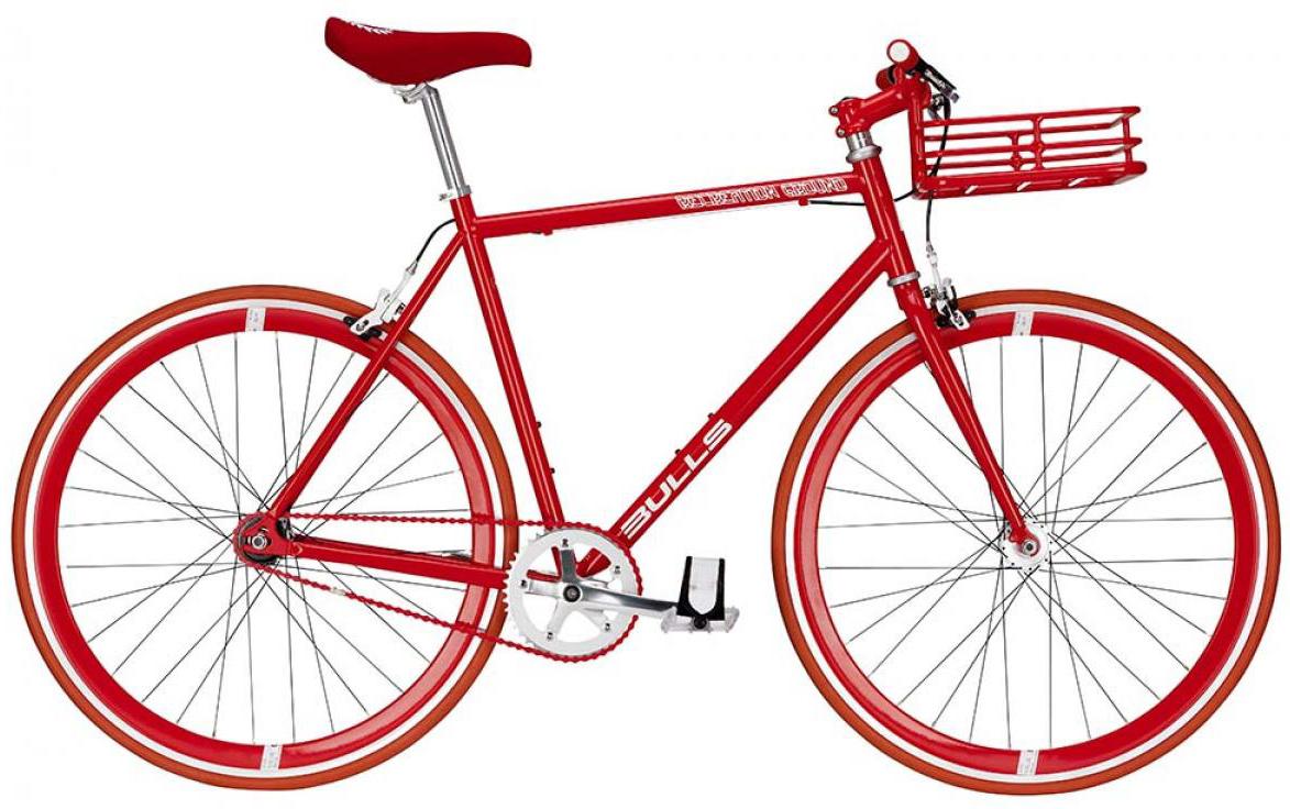 Велосипед городской Bulls Recreation Ground w/basket 2015, цвет: красный, рама 20, колесо 28129387