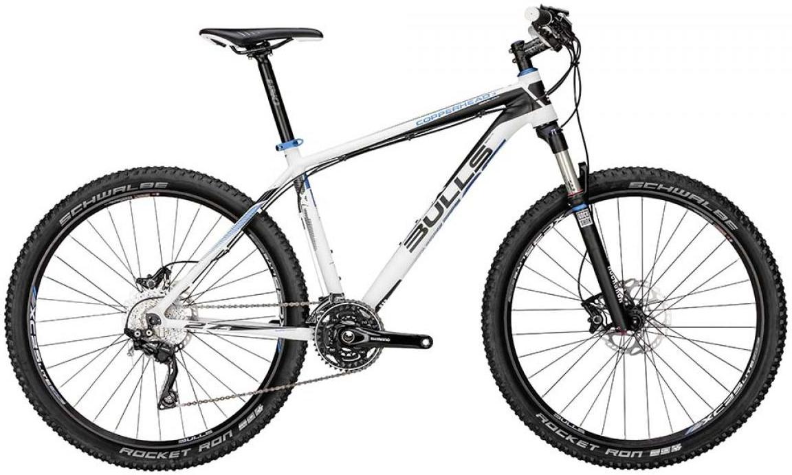 Велосипед горный Bulls Copperhead 3 2015, цвет: белый, рама 18, колесо 27,5129398