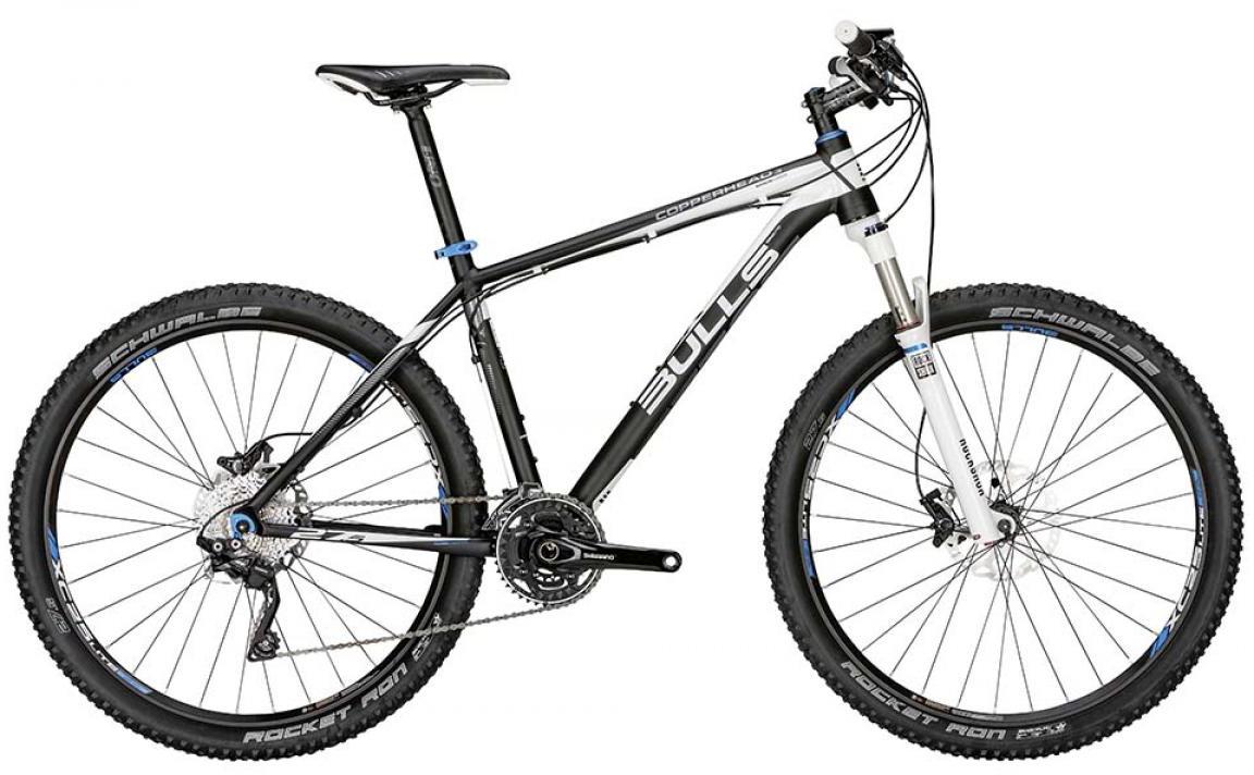 Велосипед горный Bulls Copperhead 3 2015, цвет: черный, рама 16, колесо 27,5129401