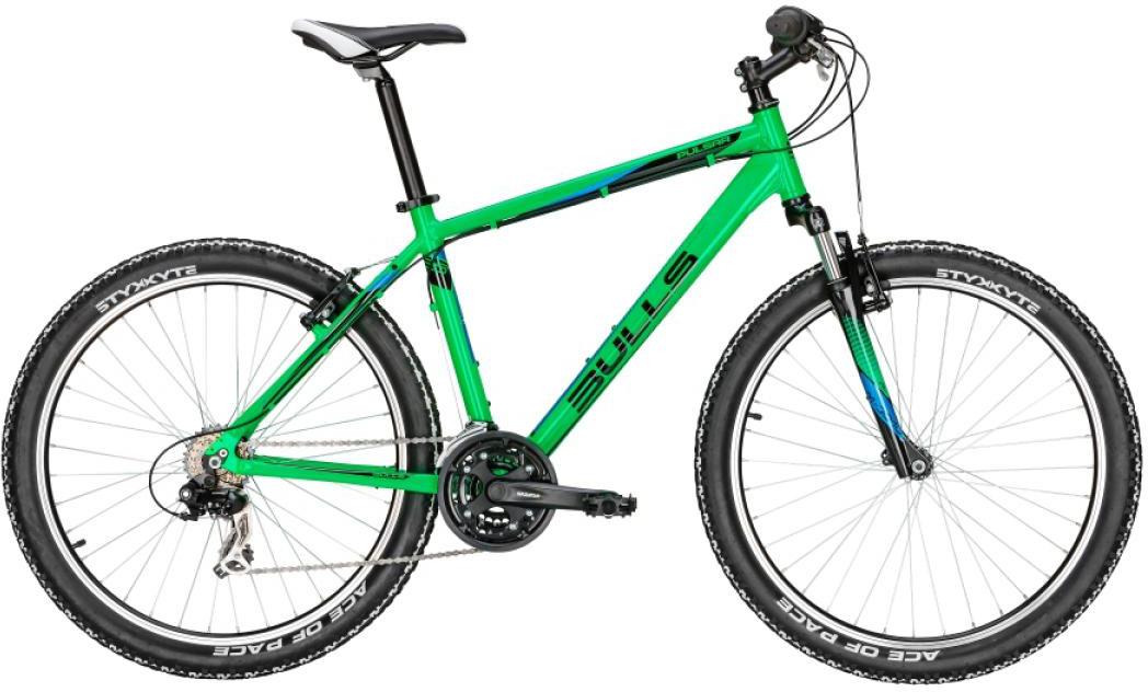 Велосипед горный Bulls Pulsar Eco 2016, цвет: зеленый, рама 22, колесо 26256958