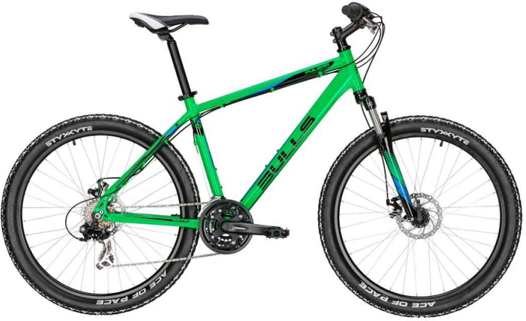 Велосипед горный Bulls Pulsar Eco Disc 2016, цвет: зеленый, рама 22, колесо 26256963
