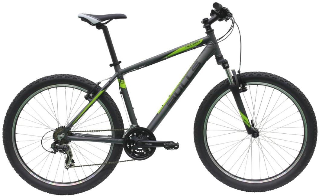 Велосипед горный Bulls Pulsar 2016, цвет: серый, рама 16, колесо 26256970