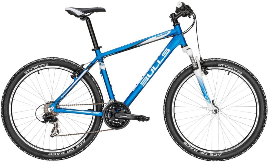 Велосипед горный Bulls Pulsar 2016, цвет: синий, рама 16, колесо 26256975