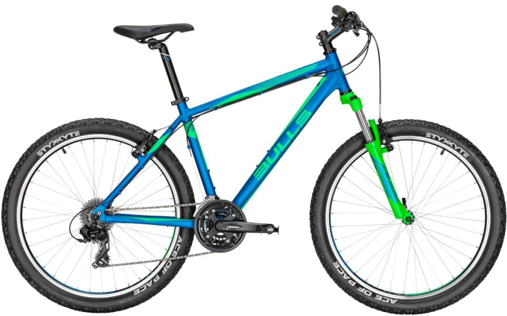 Велосипед горный Bulls Wildtail 2016, цвет: синий, рама 18, колесо 26256986