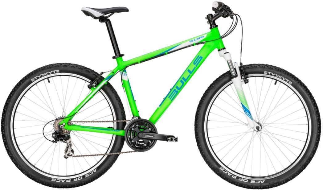 Велосипед горный Bulls Pulsar 2016, цвет: зеленый, рама 20, колесо 27,5256991