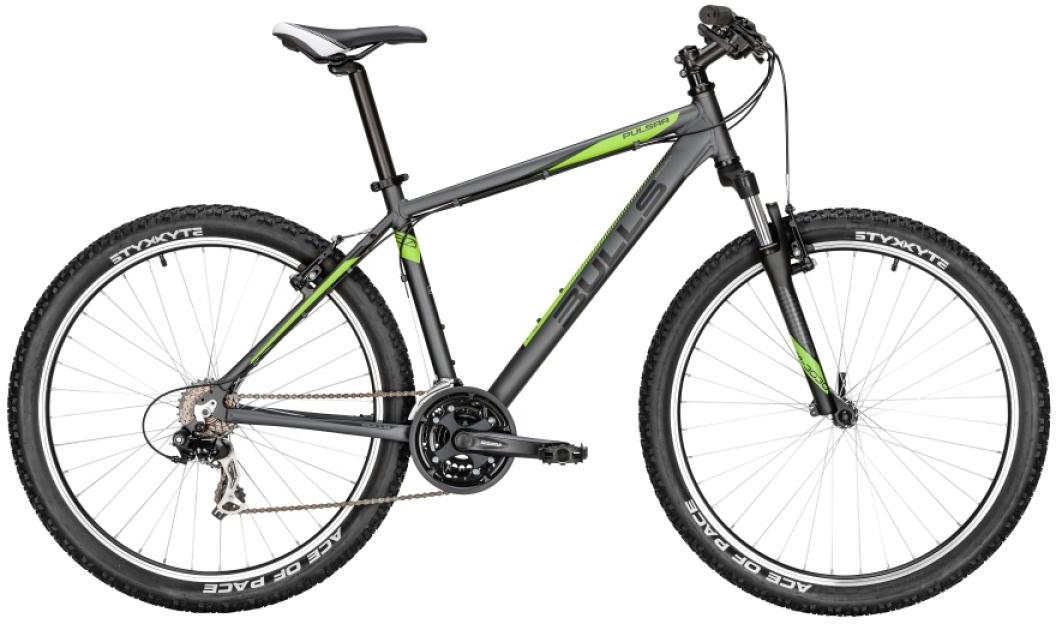 Велосипед горный Bulls Pulsar 2016, цвет: серый, рама 22, колесо 27,5257000