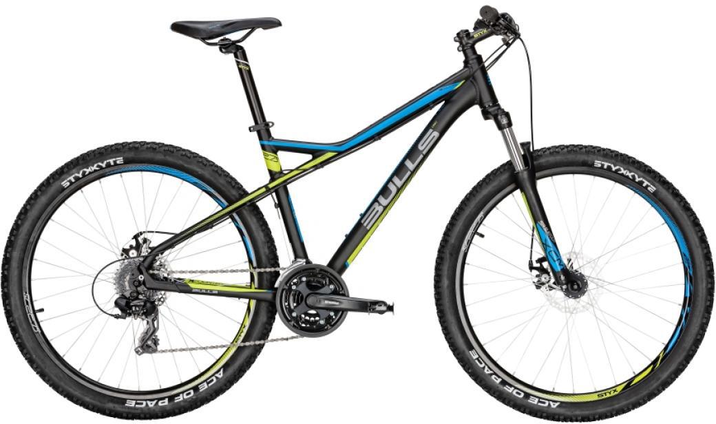 Велосипед горный Bulls Sharptail 1 Disc 2016, цвет: черный, рама 22, колесо 27,5257016