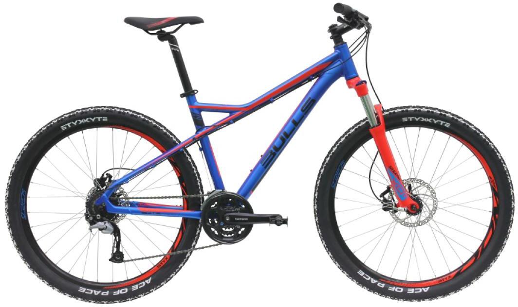Велосипед горный Bulls Sharptail 2 Disc 2016, цвет: синий, рама 16, колесо 27,5257029