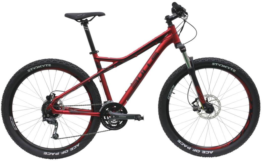 Велосипед горный Bulls Sharptail 3 Disc 2016, цвет: красный, рама 18, колесо 27,5257034