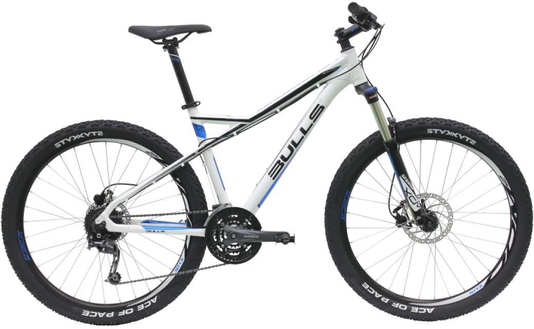 Велосипед горный Bulls Sharptail 3 Disc 2016, цвет: белый, рама 16, колесо 27,5257041