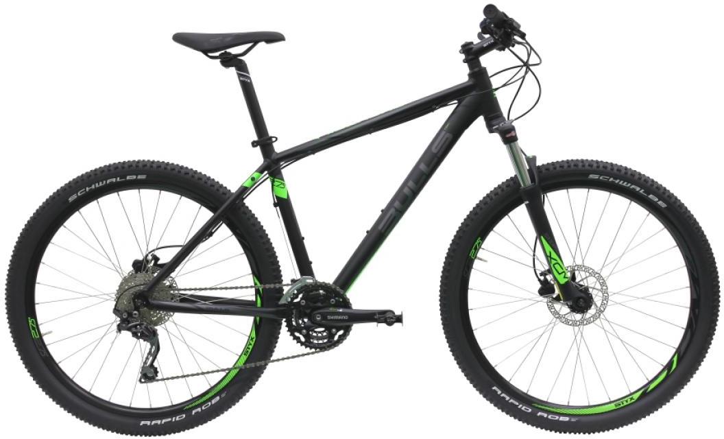Велосипед горный Bulls Bushtail 2016, цвет: черный, рама 18, колесо 27,5257046
