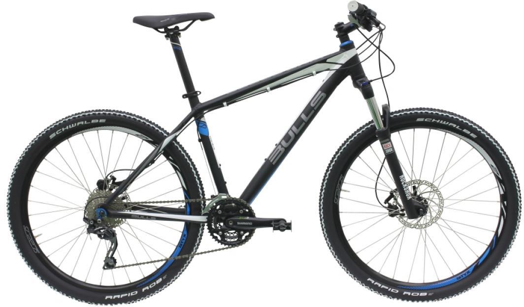 Велосипед горный Bulls King Cobra Disc 2016, цвет: белый, рама 18, колесо 27,5257050