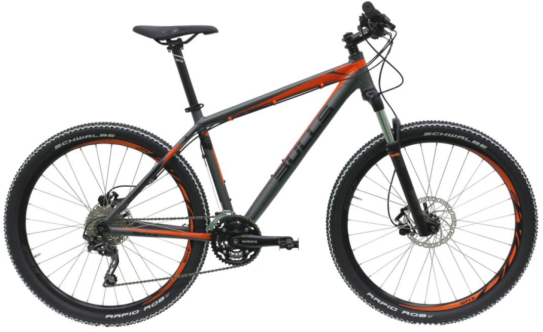 Велосипед горный Bulls King Cobra Disc 2016, цвет: оранжевый, рама 22, колесо 27,5257056