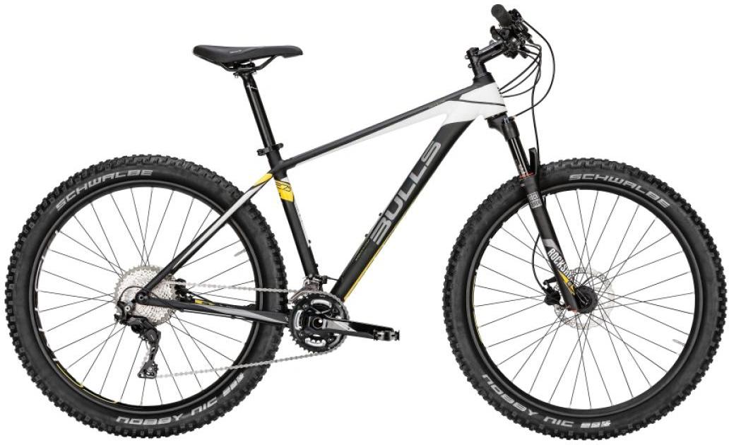 Велосипед горный Bulls Copperhead S Plus 2016, цвет: черный, рама 22, колесо 27,5257064
