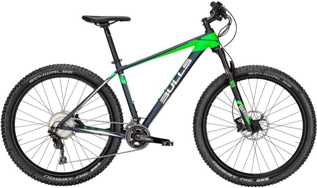 Велосипед горный Bulls Copperhead RS Plus 2016, цвет: зеленый, рама 18, колесо 27,5257066
