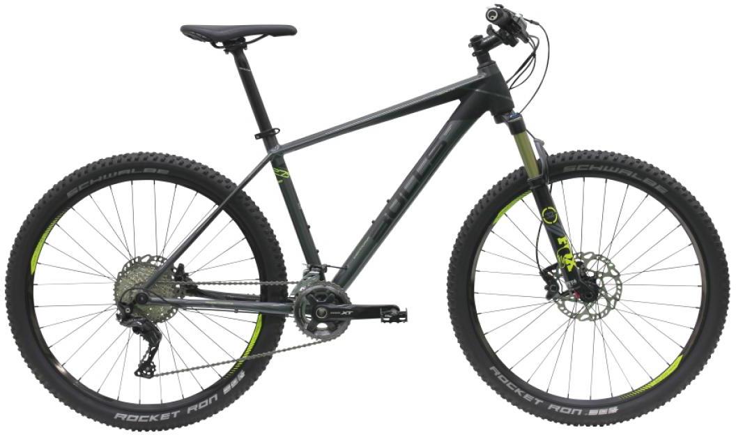Велосипед горный Bulls Copperhead 3 Rsi 2016, цвет: черный, рама 18, колесо 27,5257090
