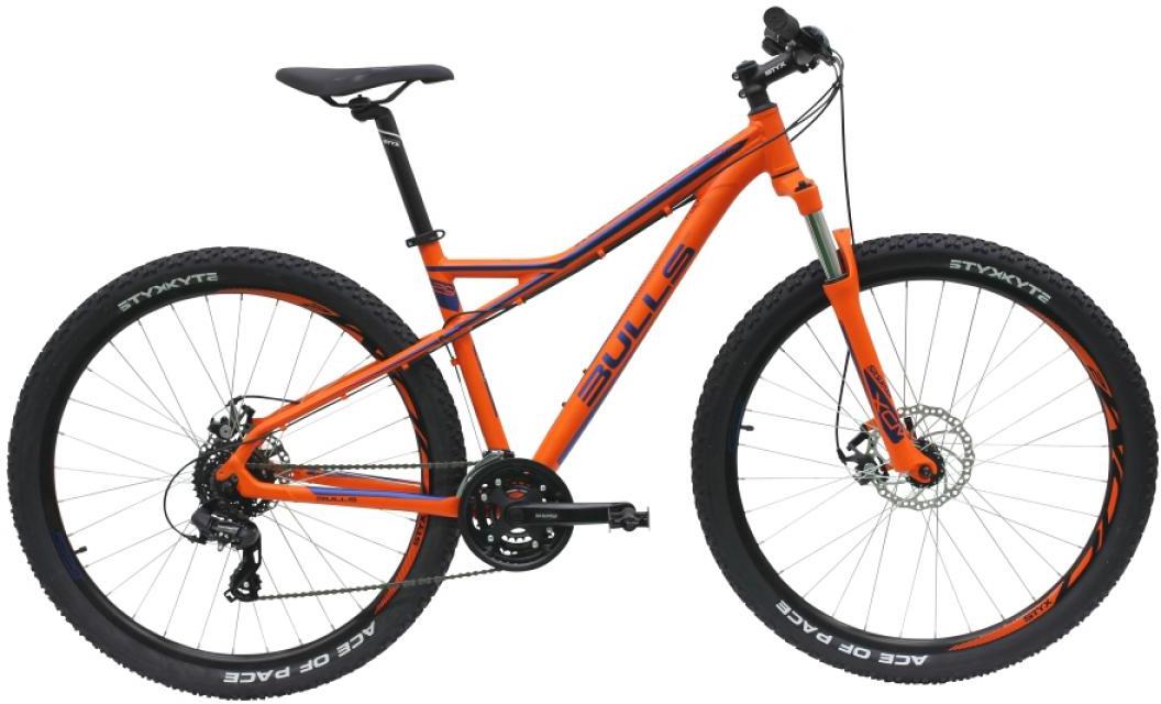Велосипед горный Bulls Sharptail 1 Disc 2016, цвет: оранжевый, рама 18, колесо 29257108