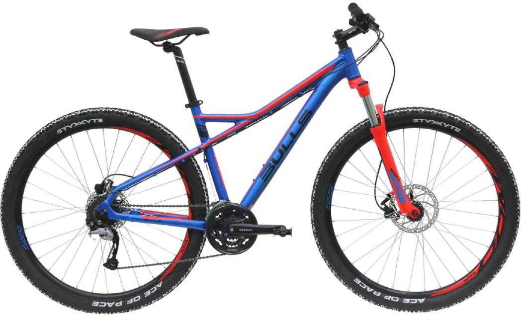 Велосипед горный Bulls Sharptail 2 Disc 2016, цвет: синий, рама 16, колесо 29257111