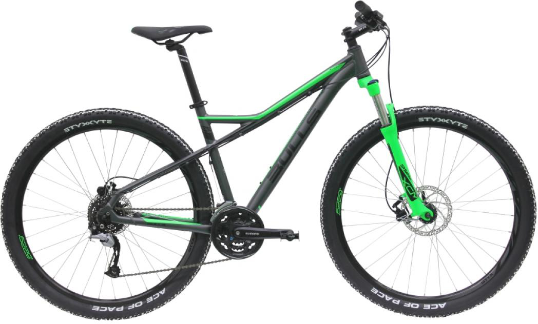 Велосипед горный Bulls Sharptail 2 Disc 2016, цвет: зеленый, рама 20, колесо 29257117