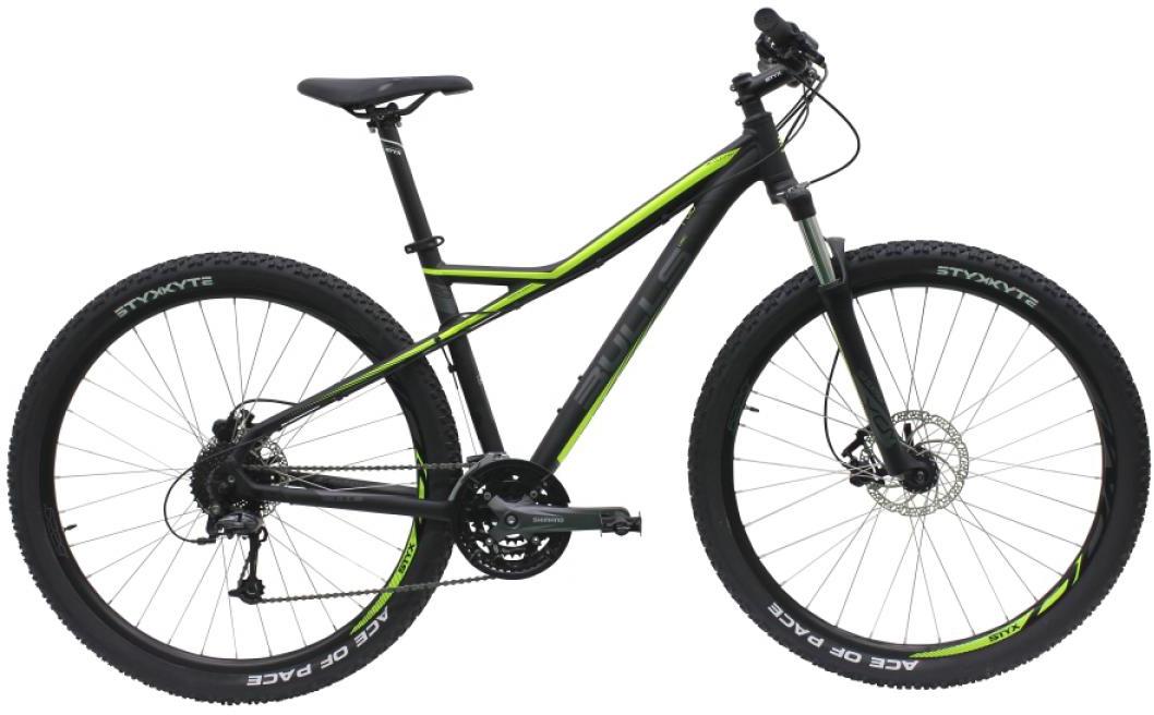 Велосипед горный Bulls Sharptail 3 Disc 2016, цвет: черный, рама 23,5, колесо 29257137