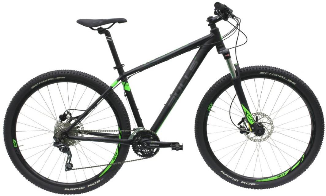 Велосипед горный Bulls Bushtail 2016, цвет: черный, рама 20, колесо 29257140