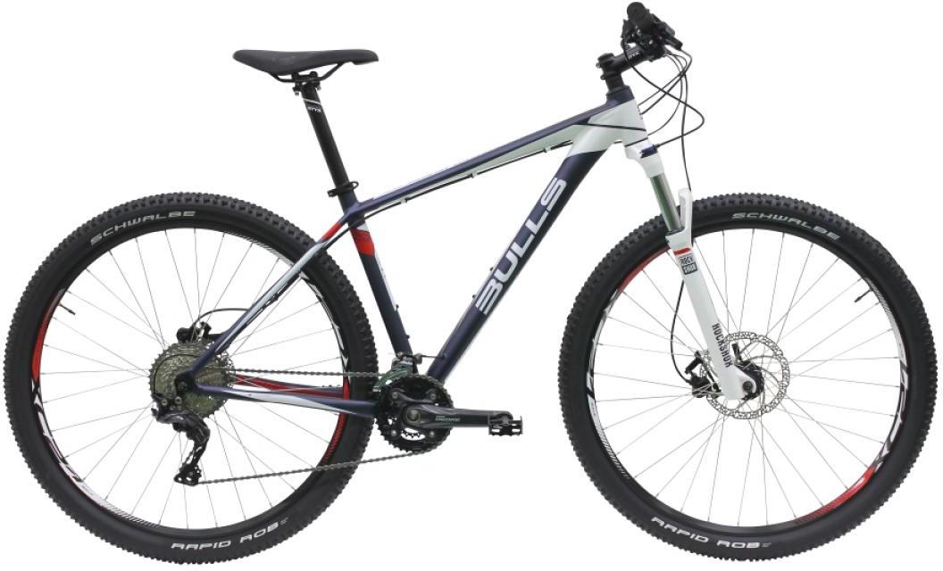 Велосипед горный Bulls Copperhead LT 2016, цвет: белый, рама 16, колесо 29257157