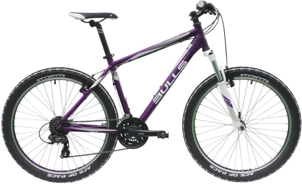 Велосипед женский Bulls Nandi 2016, цвет: фиолетовый, рама 16, колесо 26257159