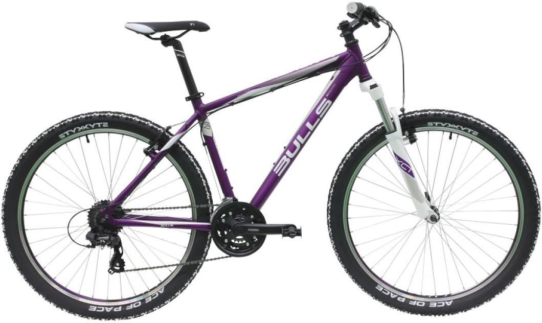 Велосипед женский Bulls Nandi 2016, цвет: фиолетовый, рама 16, колесо 27,5257167