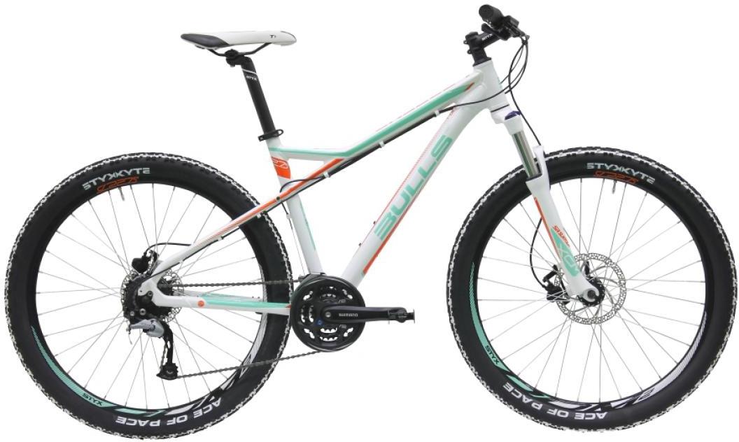 Велосипед женский Bulls Zarena 2016, цвет: белый, рама 16, колесо 27,5257171