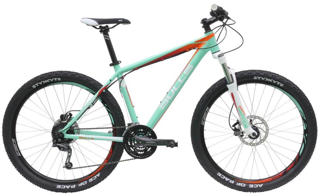 Велосипед женский Bulls Vanida 2016, цвет: зеленый, рама 18, колесо 27,5257188