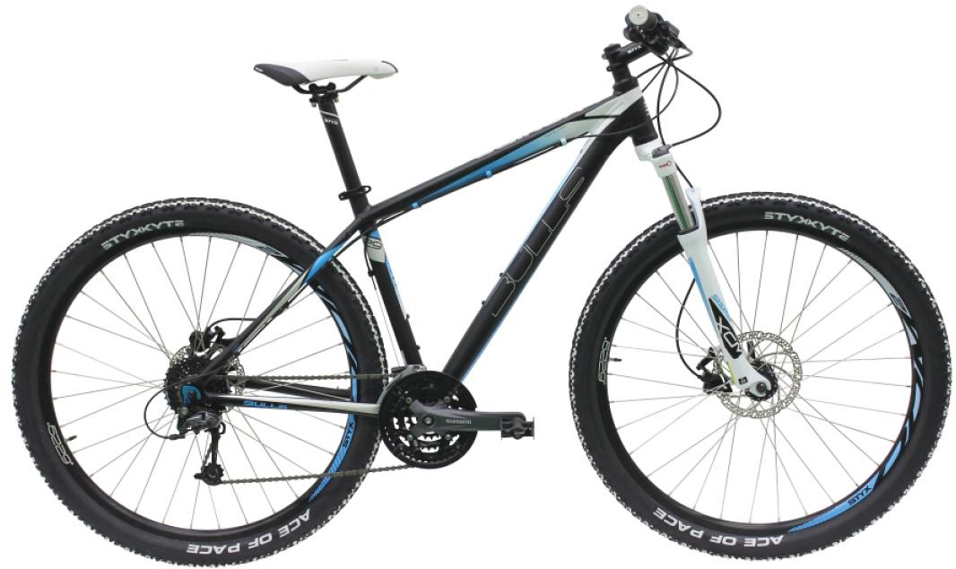 Велосипед женский Bulls Vanida 2016, цвет: черный, рама 16, колесо 29257196