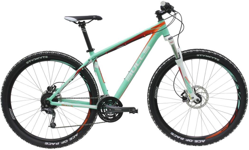Велосипед женский Bulls Vanida 2016, цвет: зеленый, рама 20, колесо 29257202
