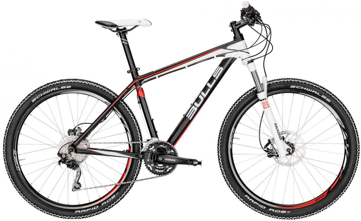 Велосипед женский Bulls Jinga 2016, цвет: черный, рама 14,5, колесо 27,5257213