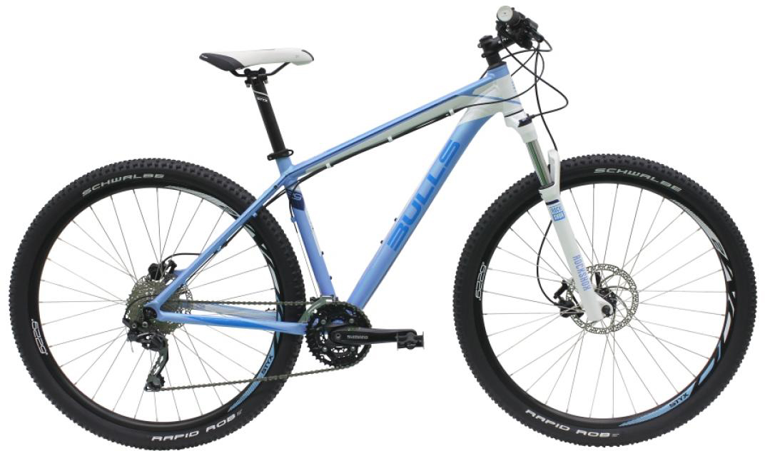 Велосипед женский Bulls Jinga 2016, цвет: синий, рама 14,5, колесо 29257217