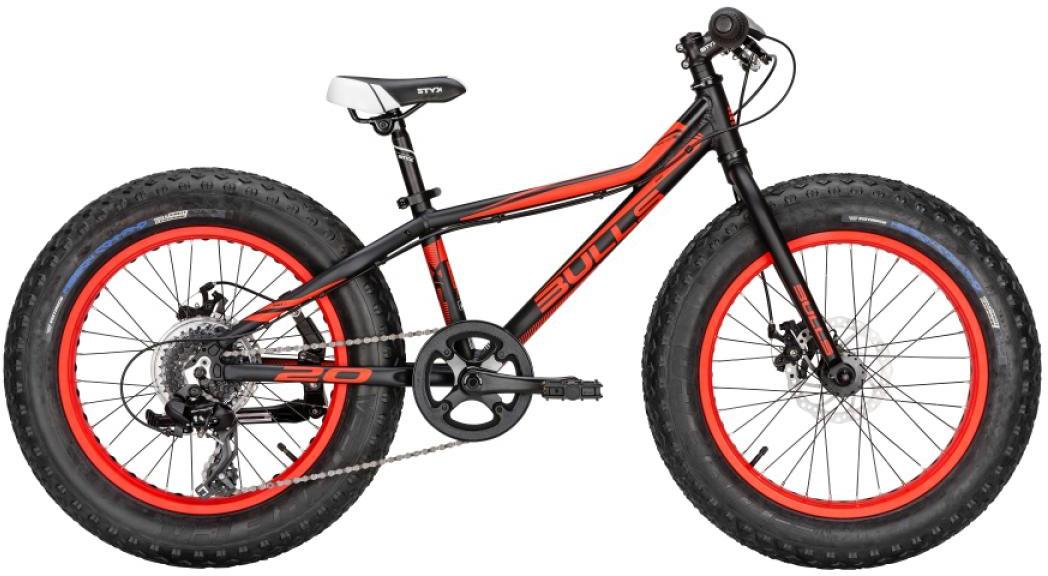 Велосипед детский Bulls Monster 2016, цвет: черный, колесо 20257259