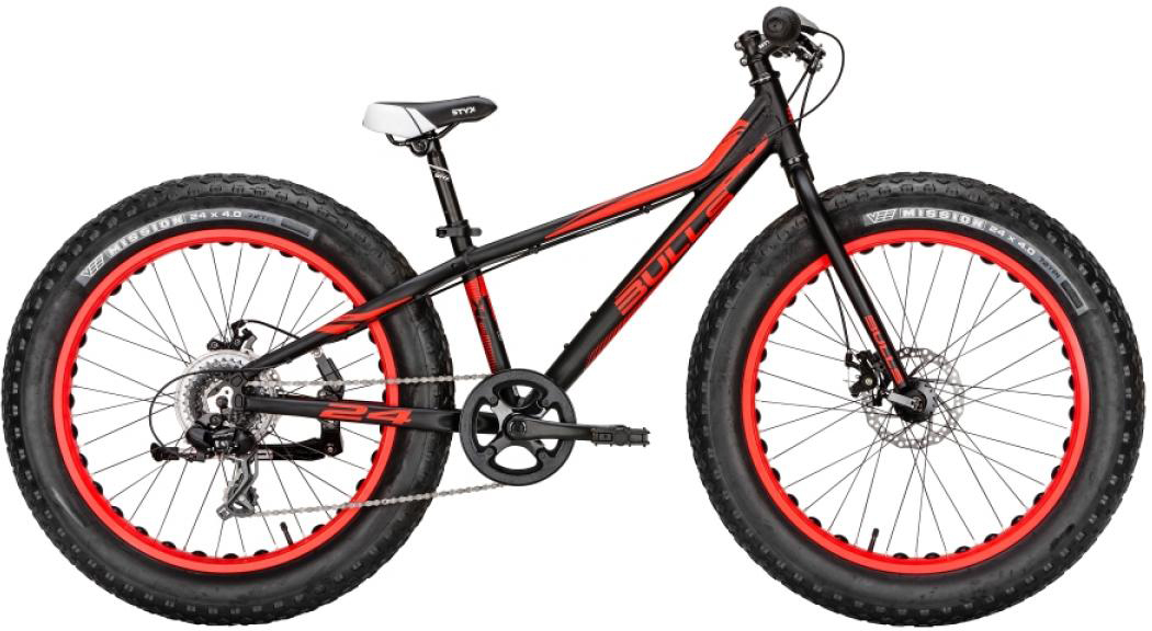 Велосипед детский Bulls Monster 2016, цвет: черный, колесо 24257260