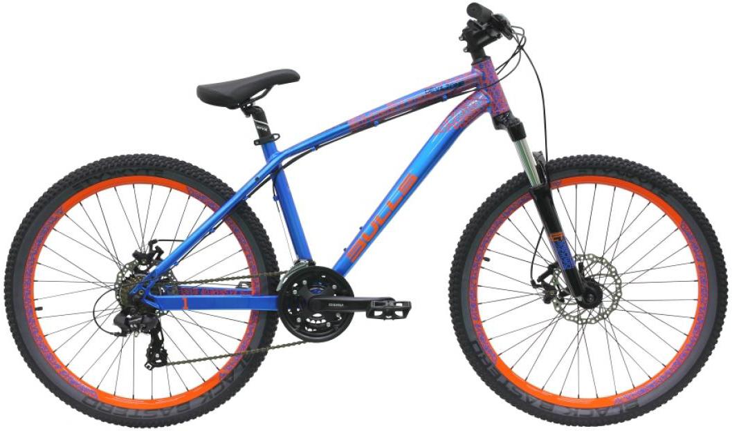 Велосипед горный Bulls Devilzone 1 2016, цвет: синий, рама 18, колесо 26257263