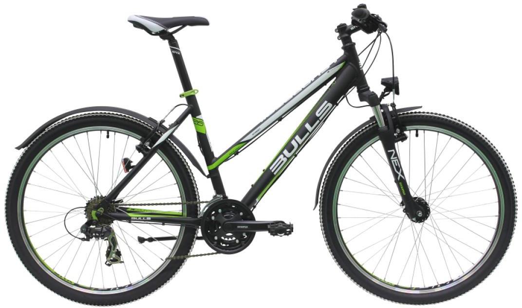 Велосипед женский Bulls Sharptail Street 1 2016, цвет: черный, рама 20, колесо 26257328