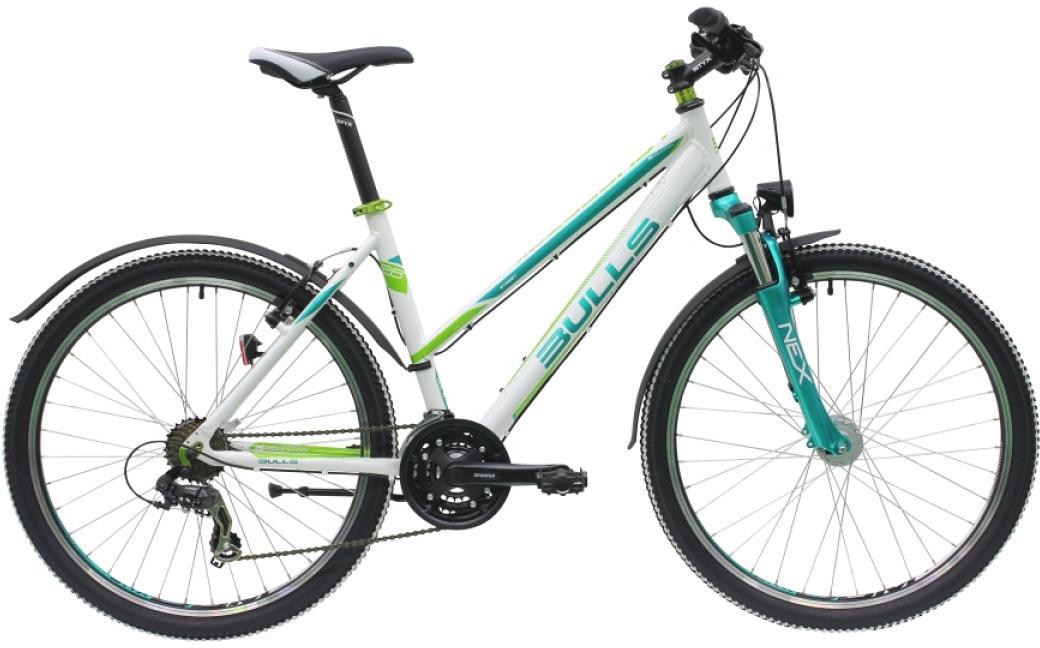 Велосипед женский Bulls Sharptail Street 1 2016, цвет: белый, рама 18, колесо 26257330