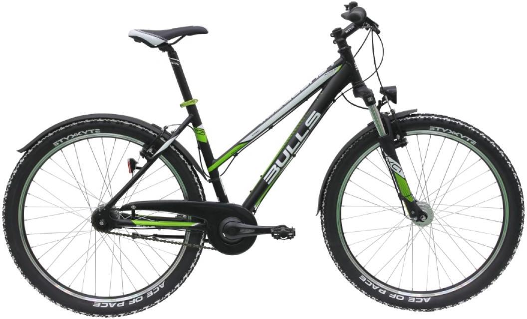 Велосипед женский Bulls Sharptail Street 1 (7-spd) 2016, цвет: черный, рама 16, колесо 26257332